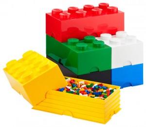 Контейнеры для хранения кубиков, минифигурок LEGO