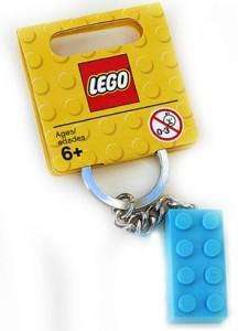 LEGO Key Chains Бірюзовий кубик