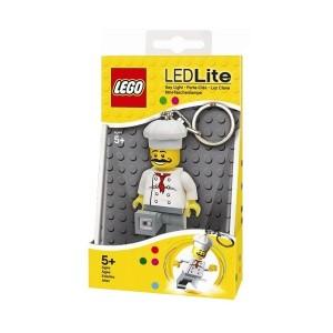 """Лего брелок-ліхтарик """"Кухар"""" з батарейкою"""