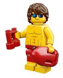 LEGO Collectable Minifigures Рятувальник