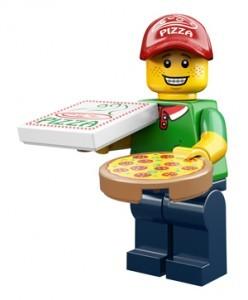 LEGO Collectable Minifigures Доставщик піци