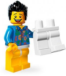 "LEGO Collectable Minifigures Хлопець ""Де мої штани?"""