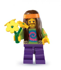 LEGO Collectable Minifigures Хіппі