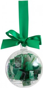 LEGO Seasonal Святкова ялинкова кулька з зеленими кубиками Лего