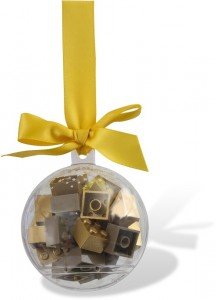 LEGO Seasonal Святкова ялинкова кулька з цеглинками Лего під золото