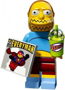 LEGO Collectable Minifigures Продавець коміксів