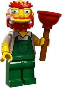 LEGO Collectable Minifigures Садівник Віллі