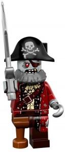 LEGO Collectable Minifigures Зомбі Пірат