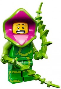 LEGO Collectable Minifigures Монстр Рослина