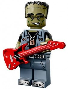 LEGO Collectable Minifigures Рокер Монстр