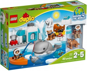Конструктор LEGO DUPLO Town Арктика