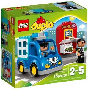 Конструктор LEGO DUPLO Town Поліцейський патруль