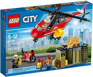 Конструктор LEGO City Fire Машина пожежної охорони