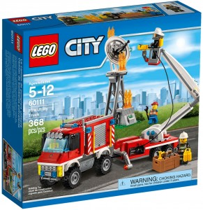 Конструктор LEGO City Fire Пожежний пікап