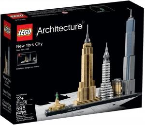 Конструктор LEGO Architecture Нью-Йорк