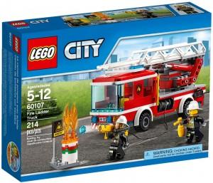 Конструктор LEGO City Fire Пожежна машина з драбиною