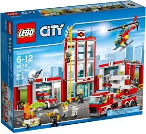 Конструктор LEGO City Fire Пожежне депо