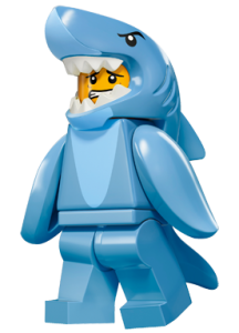 LEGO Collectable Minifigures Аніматор в костюмі акули / The Shark Suit Guy
