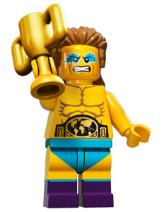 LEGO Collectable Minifigures Чемпіон з бородьби / The Wrestling Champion