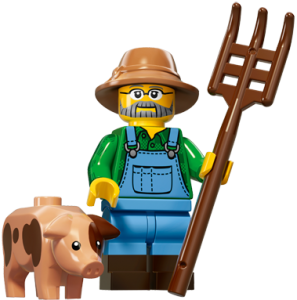 LEGO Collectable Minifigures Фермер / The Farmer