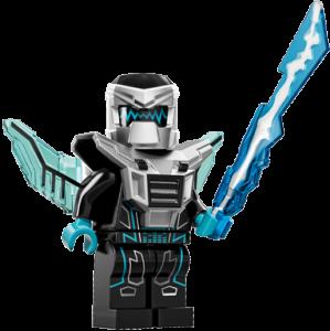 LEGO Collectable Minifigures Лазерний робот