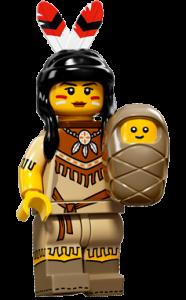 LEGO Collectable Minifigures Індіанка
