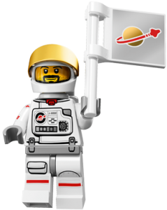 LEGO Collectable Minifigures Астронавт / The Astronaut