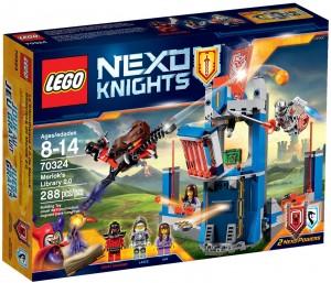 Конструктор LEGO NEXO KNIGHTS Бібліотека Мерлока 2.0