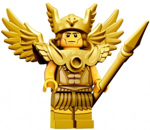 LEGO Collectable Minifigures Літаючий воїн / The Flying Warrior