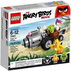 Конструктор LEGO Angry Birds Свин і втеча на автомобілі