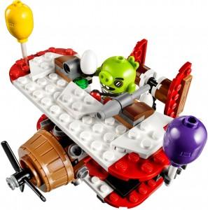 Конструктор LEGO Angry Birds Свин і захоплення літака