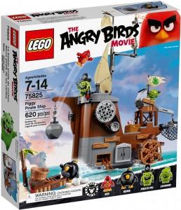 Конструктор LEGO Angry Birds Свин і піратський корабель
