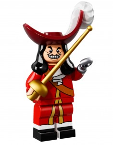 LEGO Collectable Minifigures Капітан Гак / Captain Hook