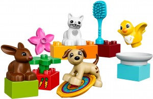 Конструктор LEGO DUPLO Домашні улюбленці