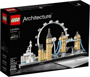Конструктор LEGO Architecture Лондон