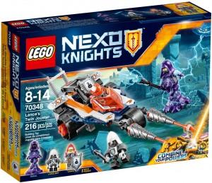 Конструктор LEGO Nexo Knights Боєць-двійник Ланса