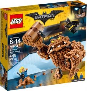 Конструктор LEGO Batman Movie Брудна атака Глиноликого