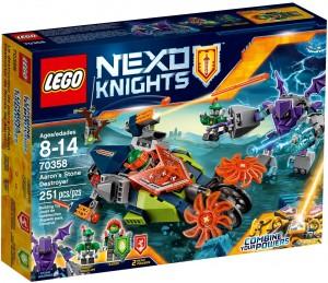 Конструктор LEGO Nexo Knights Слайзер Аарона