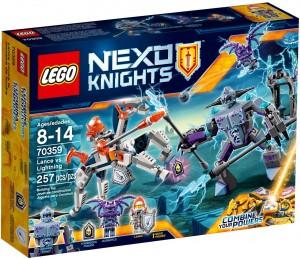 Конструктор LEGO Nexo Knights Ланс проти  Блискавки