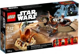Конструктор LEGO Star Wars TM Утеча з «Човна пустелі»