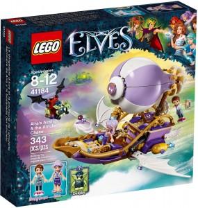 Конструктор LEGO Elves Летючий корабель Аїри та пошуки амулета