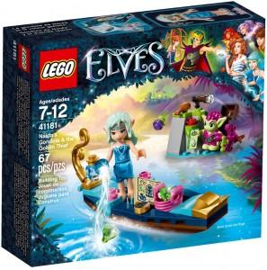 Конструктор LEGO Elves Гондола Наїди і гоблін-злодій