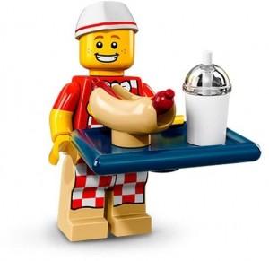 Конструктор LEGO Minifigures Хлопець з Хот Догом