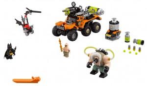 Конструктор LEGO Batman Movie Напад Бейна на токсичній вантажівці