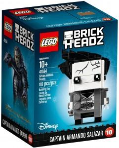 Конструктор LEGO Brickheadz Captain Armando Salazar (Капітан Армандо Салазар)