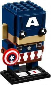 Конструктор LEGO Brickheadz Captain America (Капітан Америка)