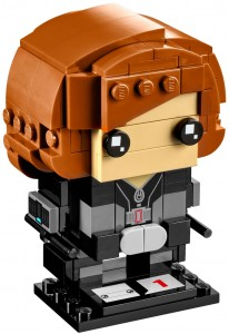 Конструктор LEGO Brickheadz Black Widow (Чорна вдова)