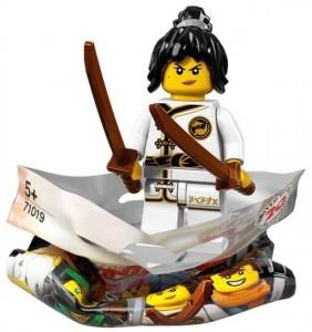 Конструктор LEGO Minifigures Нія навчається спінджитцу