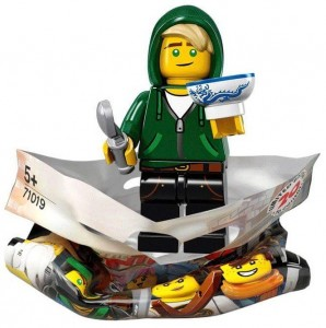 Конструктор LEGO Minifigures Ллойд Гармадон