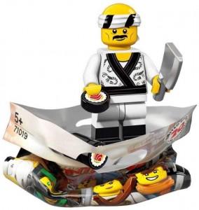 Конструктор LEGO Minifigures Суші Шеф